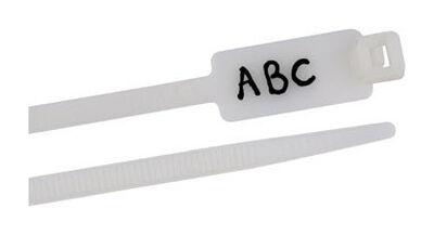 Gardner Bender ID 8 in. L White Cable Tie 25 pk