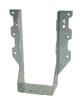 Simpson Strong-Tie Galvanized Steel Joist Hanger 7 in. H x 3-1/8 in. W 18 Ga.