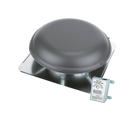 Air Vent Power Roof Ventilator 26.25 in. x 25.5 in. x 9 in. 9 in. 14 in. 1900 sq. ft. 1 320 cfm 1/8