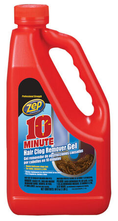 Zep 10 Minute Hair Clog Remover Gel Drain Cleaner 1 gal.