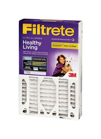 3M Filtrete 25 in. L x 16 in. W x 4 in. D Air Filter 11 MERV