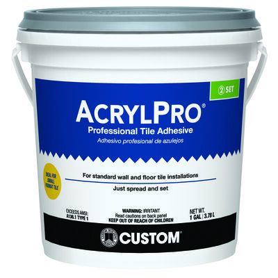 Acrylpro Ceramic Tile Adhesive 1 gal.