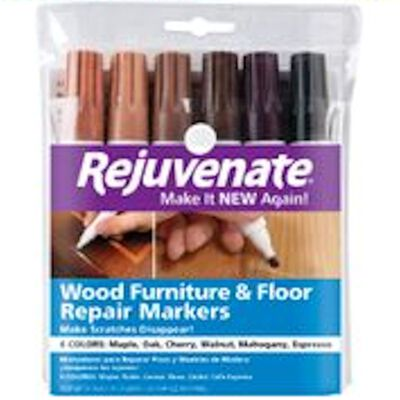 Rejuvenate Assorted Other Wood Marker 6 pk