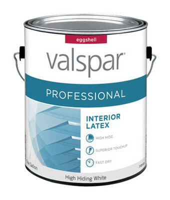 Valspar Contractor Professional Interior Acrylic Latex Paint High Hiding White 1 gal.