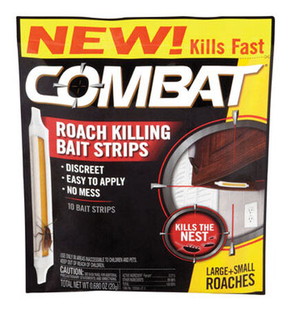 Combat Strips Roach Killer .68 oz.