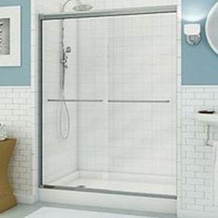 """MAAX shower door chrome 54 - 59.5"""" x 71"""""""