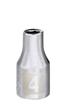 Craftsman 4 Alloy Steel 1/4 in. Drive in. drive Socket Standard