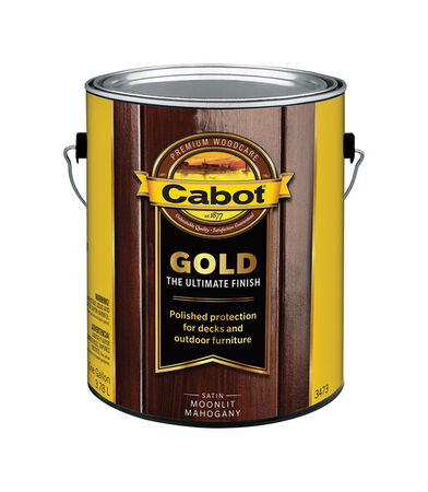 Cabot Gold Transparent Deck Vanish Moonlit Mahogany 1 gal.