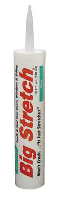 Big Stretch Sashco Acrylic Caulk Clear 10.5 oz.