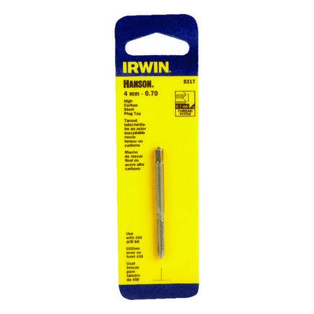 Irwin Hanson High Carbon Steel 4mm-0.70 mm Metric Plug Tap 1 pc.