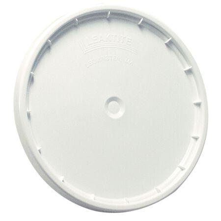 Leaktite Plastic Lid 5 gal. White