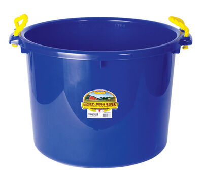 Miller 70 qt. Bucket Blue