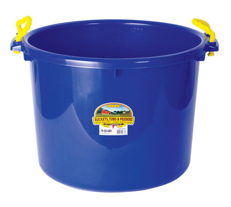 Miller 70 qt. Bucket Blue