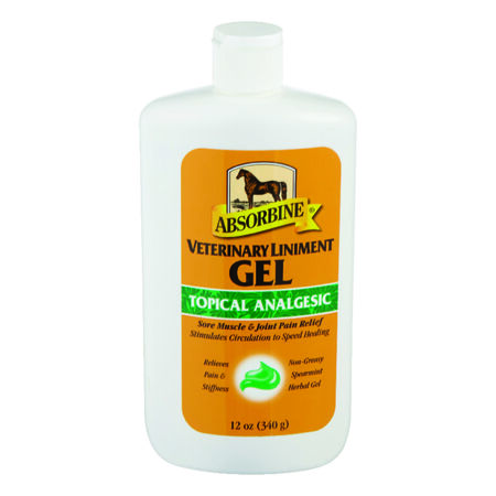 Absorbine 12 oz. Liniment Gel For Horse