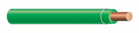 Southwire 500 ft. 12/1 THHN Solid Wire Green