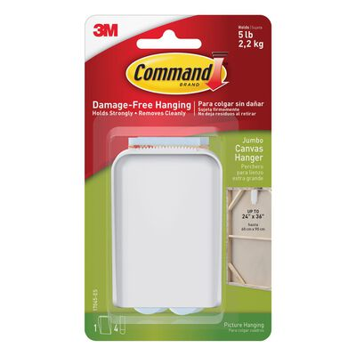 Command Plastic 5 lb. Canvas Picture Hanger 1 pk