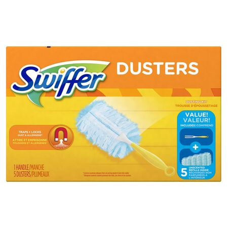 Swiffer 6 in. L Dusters 5 pk