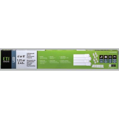 ETI White LED Retrofit Kit 48 watts