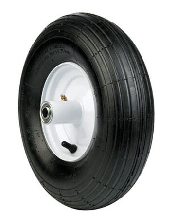 Arnold Wheelbarrow Tire 14 in. Dia. 445 lb. Butyl Rubber