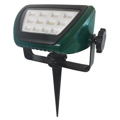 Ace Plug In LED Floodlight Green 9.9 1 pk