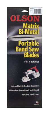 Olson 44.9 in. L x 0.5 in. W Bi-metal Band Saw Blade