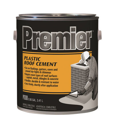 Premier Asphalt Plastic Roof Cement .90 gal. Black