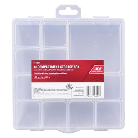 Ace Storage Organizer 1-3/4 in. H x 8 in. W x 8 in. L Clear