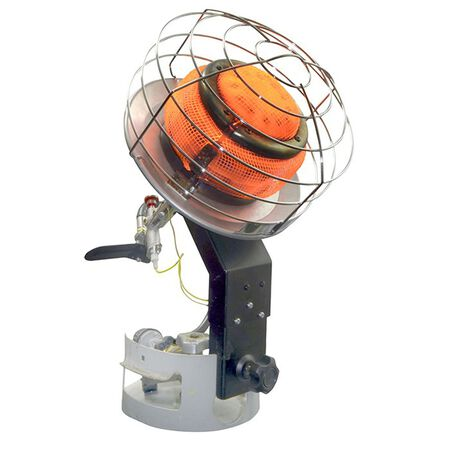 Mr. Heater Propane Tank Top Heater 1 000 sq. ft. Metallic