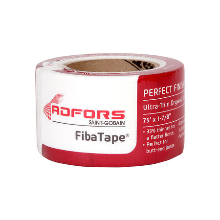 ADFORS FibaTape Perfect Finish 75 ft. L x 2 in. W Fiberglass Mesh White Self Adhesive Drywall Ta