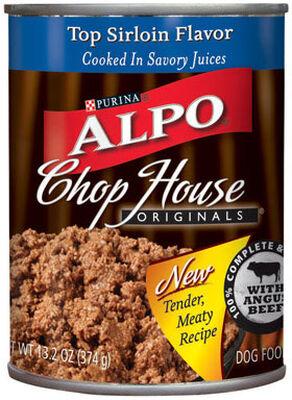 Purina Alpo Chop House Beef Tenderloin Adult Dog Food 13.2 oz.