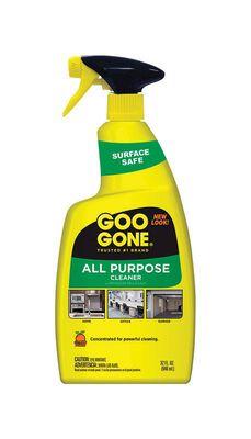Goo Gone Citrus All Purpose Cleaner 32 oz. Yellow For Garages Liquid