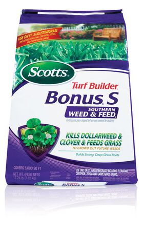 Scotts Turf Builder Bonus S Weed and Feed Southern 5000 sq. ft. 29-0-10