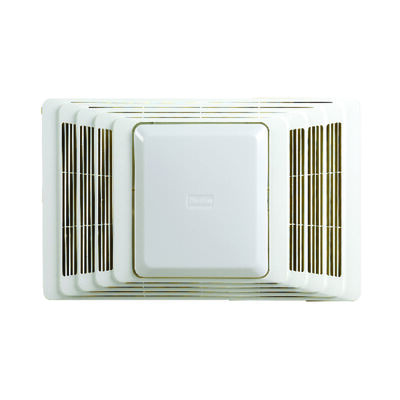 Broan Ventilation Fan/Heat Combination with Lights Ceiling 16-3/4 in. D x 7-7/8 in. H x 10-5/8 in