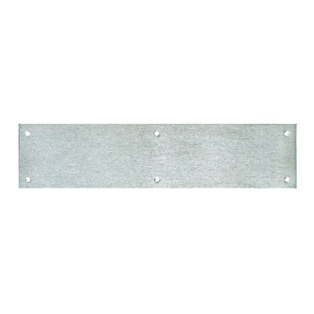Tell 3-1/2 in. H x 15 in. L Satin Push Plate