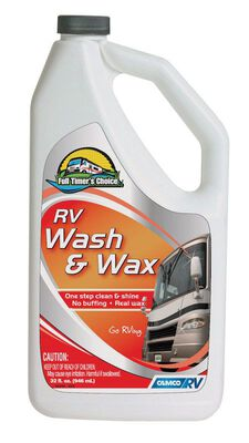 Full Timer's Choice 32 oz. Liquid RV Wash and Wax
