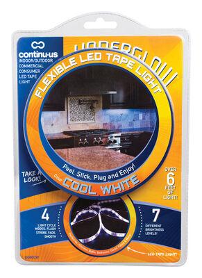 Continu-us Underglow 80 in. L Plug-In LED Tape Light White
