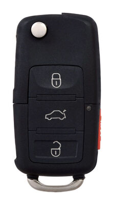DURACELL Advanced Remote Automotive Replacement Key VW 1J0-959-753-AM High Security Flip Key Do
