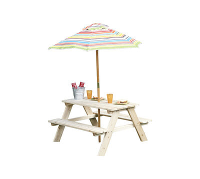 Living Accents Kids Beach Picnic Set Natural