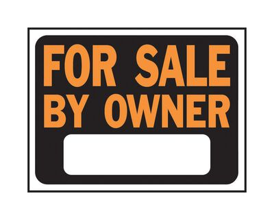 Hy-Ko English Plastic Sign For Sale by Owner