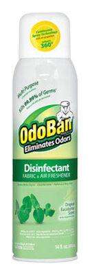 OdoBan 14 oz. Eucalyptus Scent Disinfectant Fabric & Air Freshener
