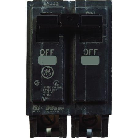 GE Q-Line Double Pole 40 amps Circuit Breaker
