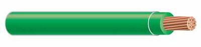 Southwire 500 ft. 8/1 THHN Stranded Wire Green - Sold by the foot