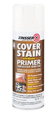 Zinsser Cover Stain Oil-Based Interior and Exterior Primer 13 oz. White