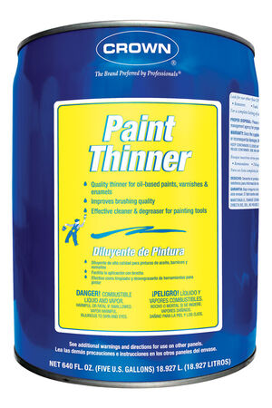 Crown Paint Thinner 5 gal.