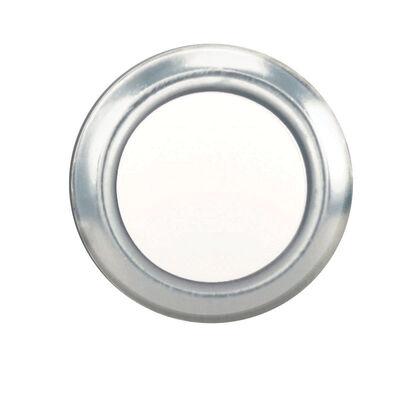 Heath Zenith Silver Wired Pushbutton Doorbell