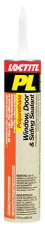 Loctite Window Door and Siding Sealant 10 oz. Redwood