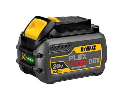 20V/60V MAX* FLEXVOLT 6.0 Ah BATTERY