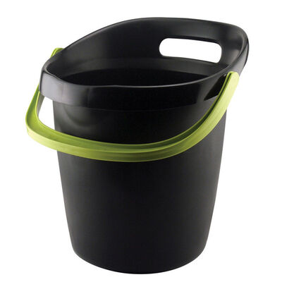 Leaktite 3-1/2 gal. Gripper Bucket Black