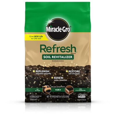 Miracle-Gro Refresh Soil Revitalizer 4.7 lb.