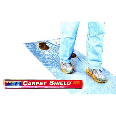 Surface Shields Carpet Shield Self-Adhering Film 3 mil x 24 in. W x 50 ft. L Polyethylene Clear